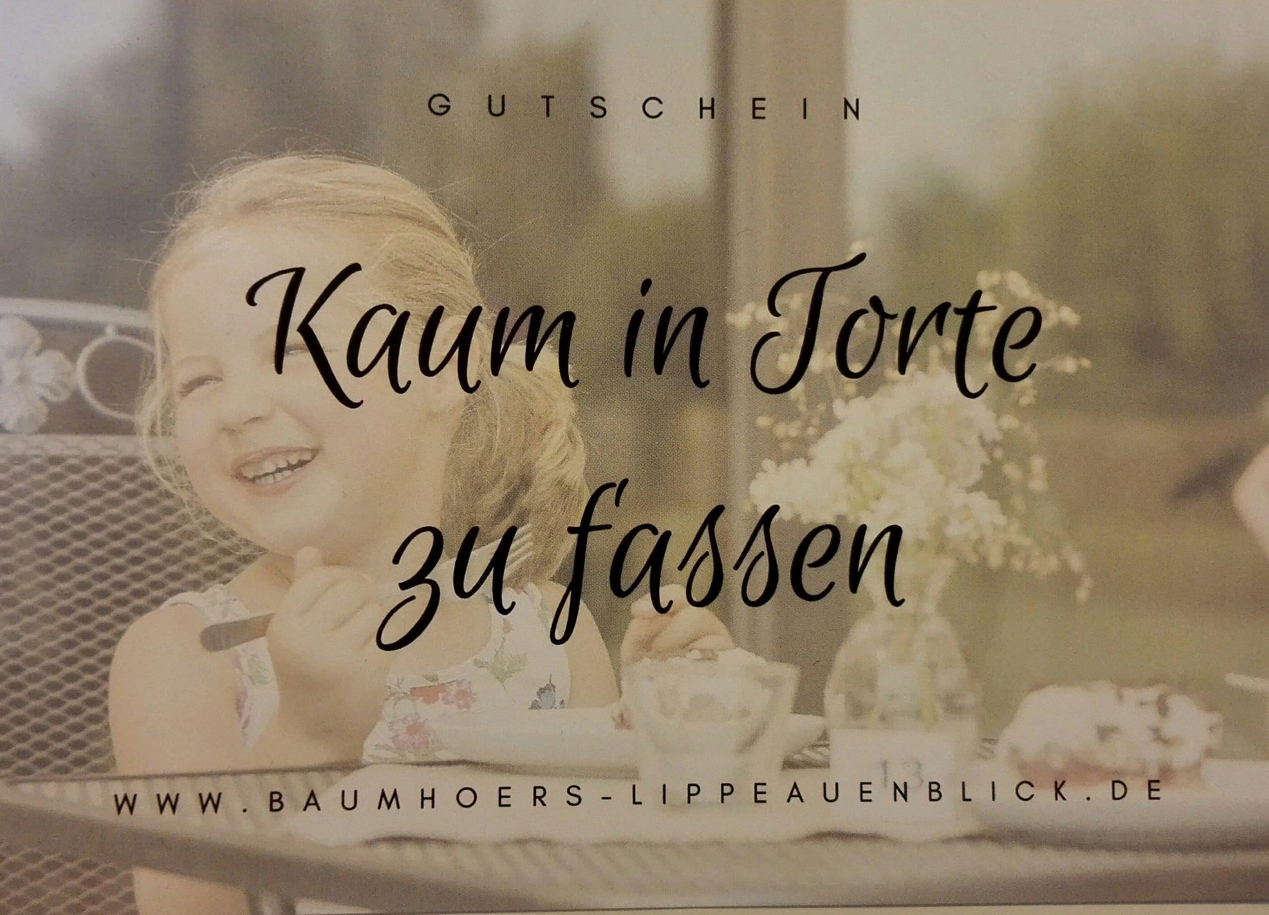 Gutschein Café